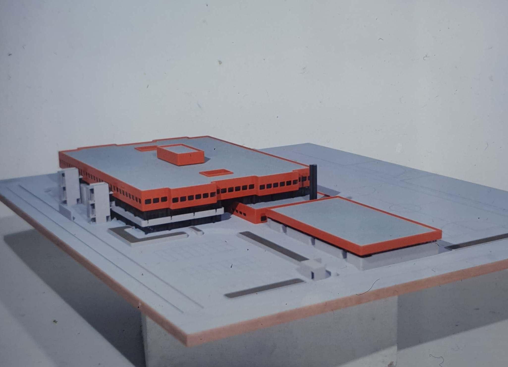 PSP Oberstufenzentrum Wedding Modell 1971