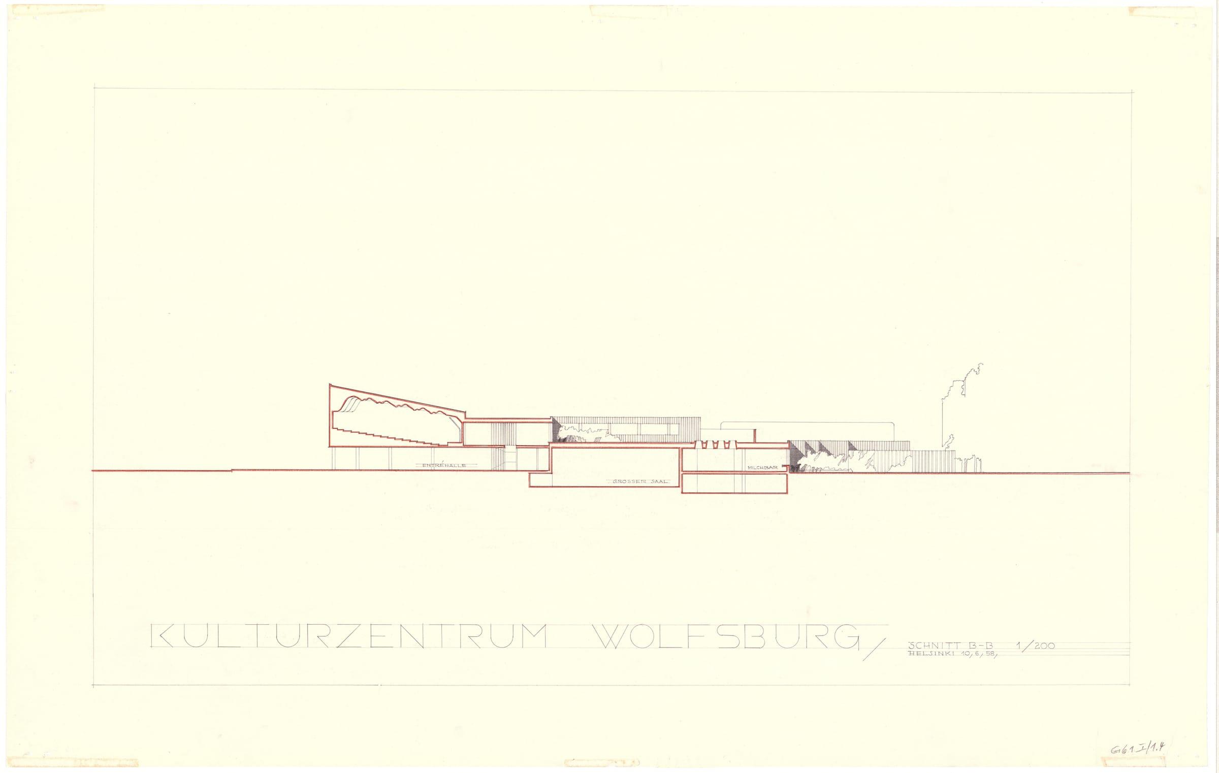 SAIB G061 I1 4 Kulturzentrum Wolfsburg Aalto