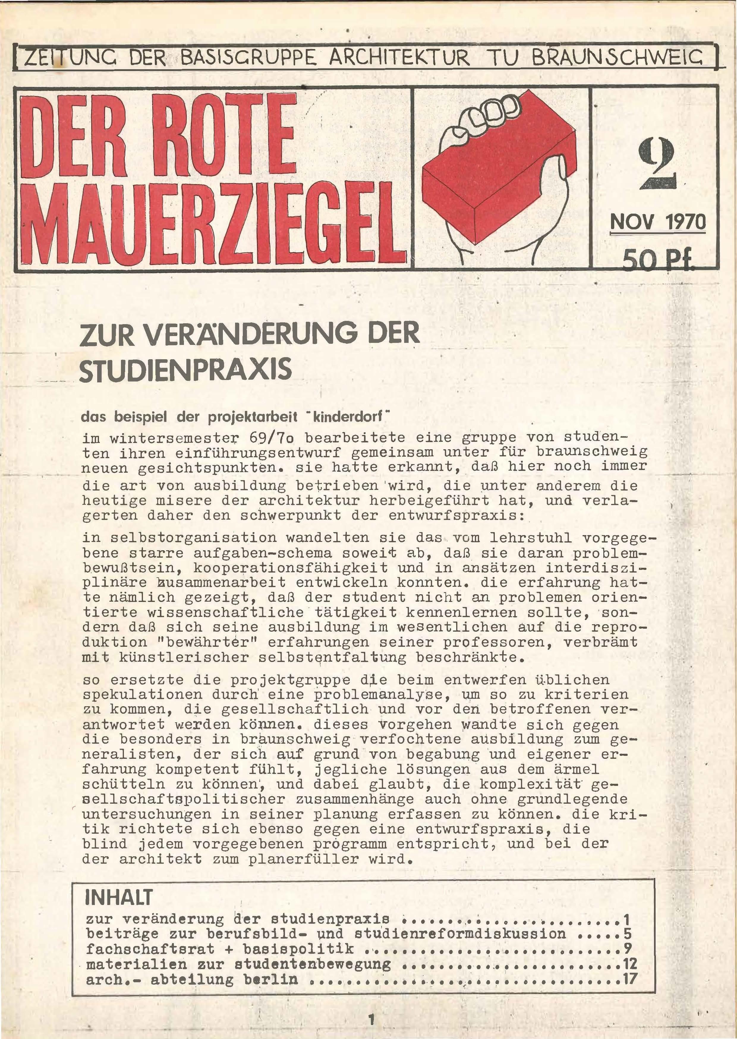 SAIB G74 III 2 Der Rote Mauerziegel Page 01