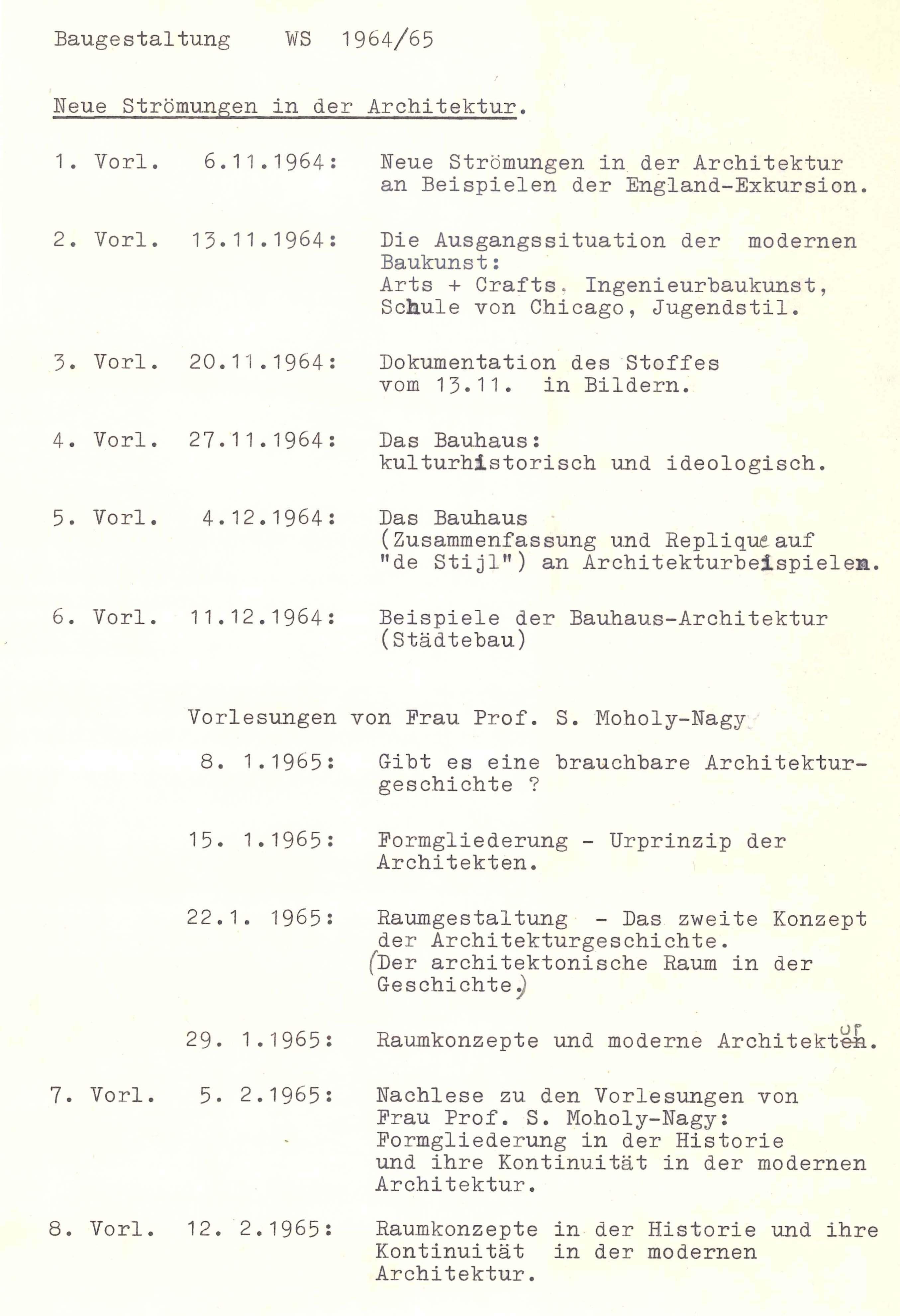 Saib G046 V U Ebersicht Vorlesung WS1964 65 web