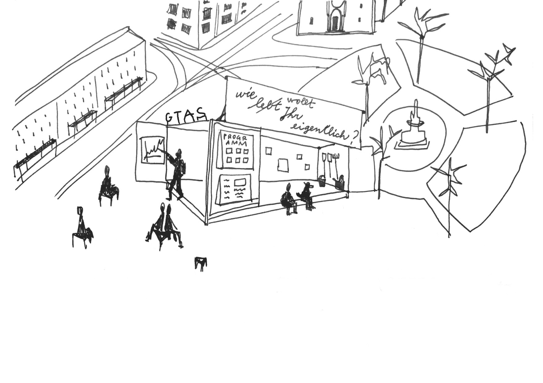 Hagenmarkt leer