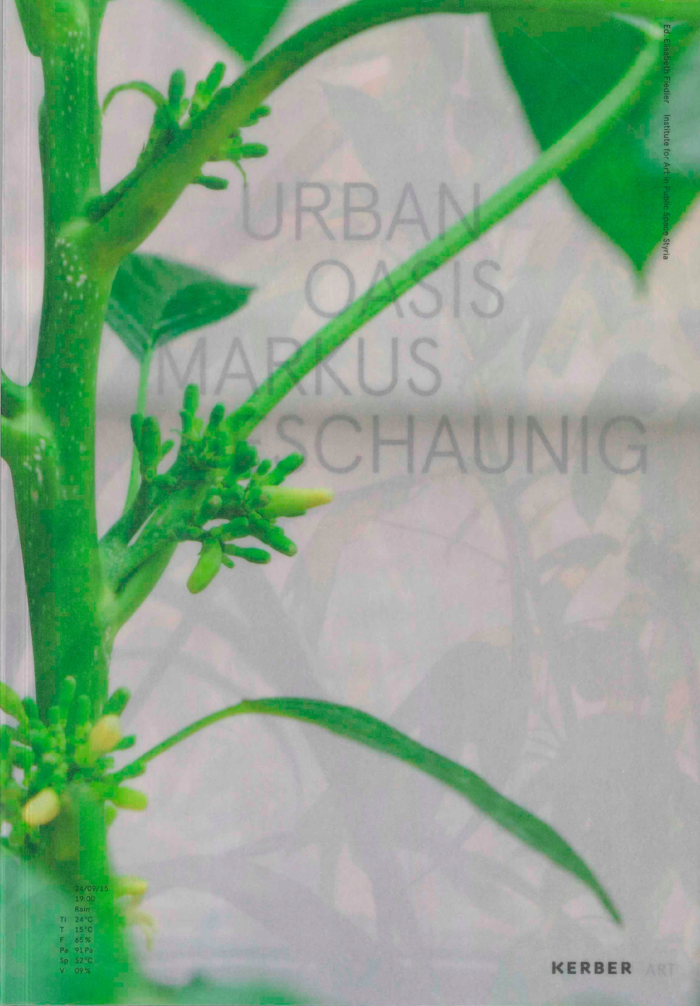 Cover urban oasis